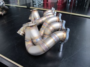 2jz twin turbo manifold 1
